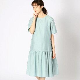 〔マタニティ〕ギャザーフレアTシャツドレス/コムサブロンドオフ(COMME CA BLANC D'OEUF)