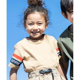 【100-150cm】Sunny袖ラインTシャツ/ザ ショップ ティーケー(キッズ)(THE SHOP TK Kids)