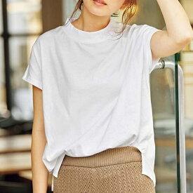 綿100%プチハイネックTシャツ/ジーラ バイ リュリュ