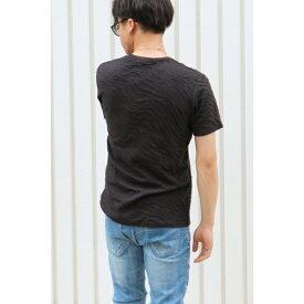 膨れジャガード半袖Tシャツ/ヴァンスエクスチェンジ メンズ(VENCE EXCHANGE)