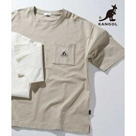 KANGOL/カンゴール 刺繍クルーネックカットソー[WEB限定サイズ]/アー・ヴェ・ヴェ(メンズ)(a.v.v)
