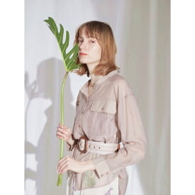 BIGポケットシアーシャツ/レディメイド(LADYMADE)