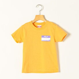 KICKIT:HELLO MY NAME IS プリント Tシャツ 100−140cm/シップス エニィ(キッズ)(SHIPS any)