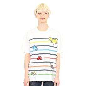 【ユニセックス】コラボレーションTシャツ/ドローイング(セサミストリート)/グラニフ(graniph)