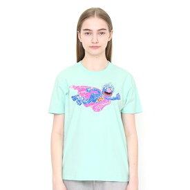 【ユニセックス】コラボレーションTシャツ/スーパーグローバー(セサミストリート)/グラニフ(graniph)