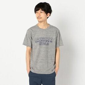 【LOOP WHEEL】吊り編みプリントTシャツ/フレディ&グロスター メンズ(FREDY&GLOSTER)