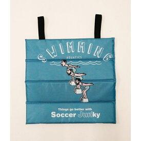 【Soccer Junky サッカージュンキー】コラボスタジアムクッション/ジュンレッド