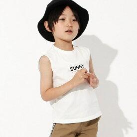 【100-150cm】Sunnyノースリーブトップス/ザ ショップ ティーケー(キッズ)(THE SHOP TK Kids)