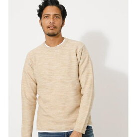 COTTON MIX KNIT PULLOVER/アズールバイマウジー