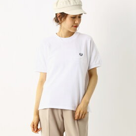 【A20】PIQUE T-SHIRT/フレッドペリー(レディス)(FRED PERRY)