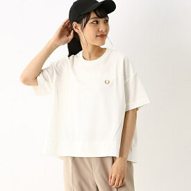 【A20】PANELLED T-SHIRT/フレッドペリー(レディス)(FRED PERRY)
