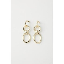 OVAL CHAIN EARRINGS/マウジー(MOUSSY)