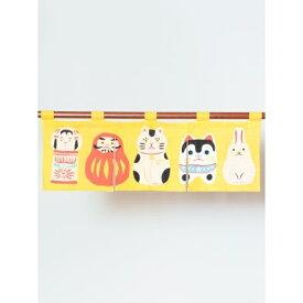 【カヤ】日本の民芸 短暖簾/チャイハネ(CAYHANE)