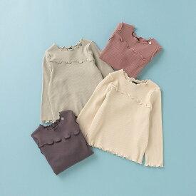 オーガニックコットン メロウテレコTシャツ/プティマイン(petit main)