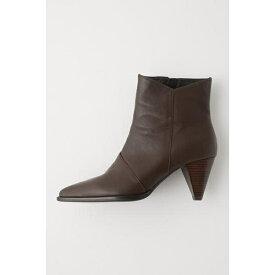 CONE HEEL SHORT ブーツ/マウジー