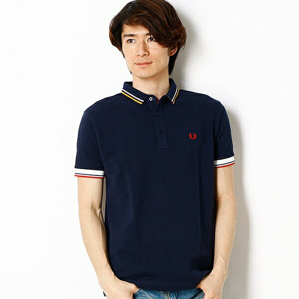 【17SS】TIPPED PIQUE SHIRT/フレッドペリー(メンズ)(FRED PERRY)