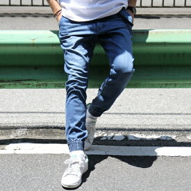【WEB限定】ストレッチスキニーデニムクライミングジョガーパンツ/コーエン(メンズ)(coen)