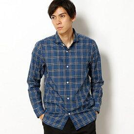 モダンチェックシャツ/モルガンオム(MORGAN HOMME)