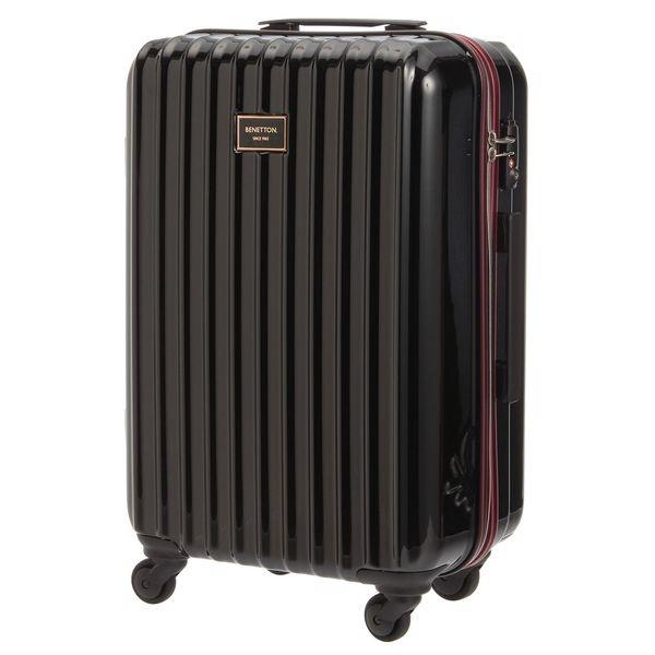 静走ラインキャリーバッグ・スーツケース(M)容量約48L 静音/ベネトン レディース(UNITED COLORS OF BENETTON)