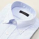 【首まわり35〜50cm】ラクチンすっきりYシャツ(綿100%素材)/ビサルノ(VISARUNO)