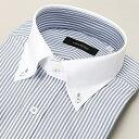 【首まわり35〜50cm】ラクチンすっきりYシャツ(クールマックス(R)ファブリック)/ビサルノ(VISARUNO)