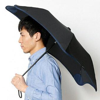 【空気力学による風に強い構造・6色展開】ユニセックス折りたたみ傘(メンズ/レディース雨傘)/ブラント(BLUNT)