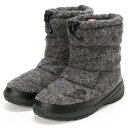 【0112_0131】THE NORTH FACE/防水ウールブーツ/NUPTSE BOOTIE WP WOOL LUXE/ザ・ノース・フェイス(THE NOR…