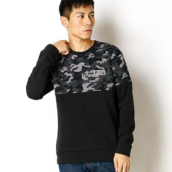 【プーマ/PUMA】メンズスウェットシャツ(AOP クルースウェット)/プーマ(PUMA)