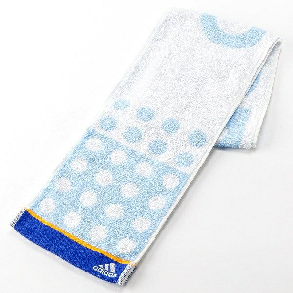 【15×120cm】ポイントスリムスポーツタオル/アディダス(雑貨)(adidas)