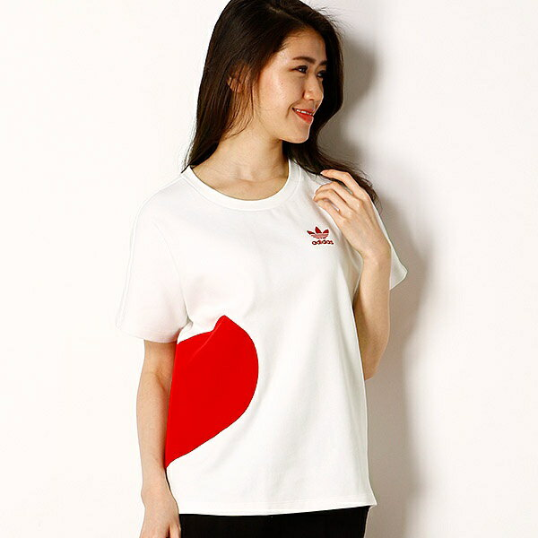 【アディダスオリジナルス】レディースTシャツ(VALENTINE TEE)/アディダス オリジナルス(adidas originals)