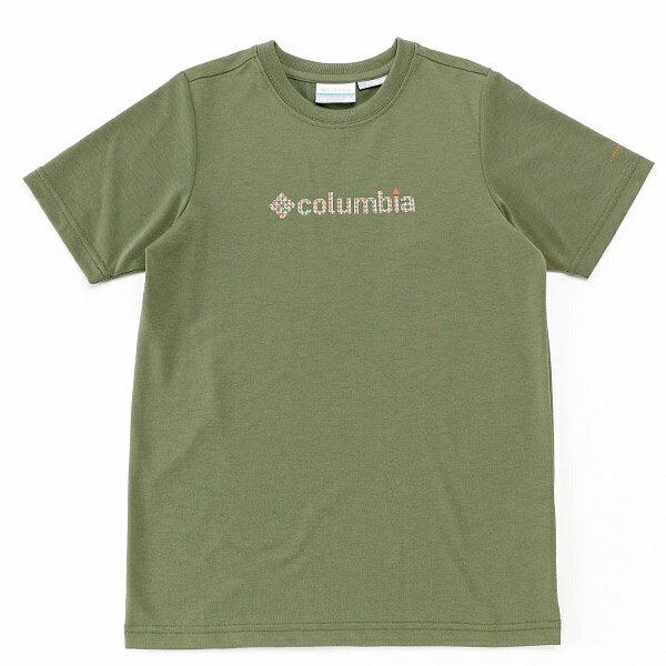 キッズ【コロンビア】防虫機能Tシャツ(ケージースプリングユースTシャツ)/コロンビア(Columbia)