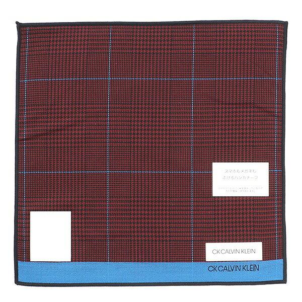 【24×24cm】スマホ拭き(メンズ)/カルバン・クライン(ハンカチ)(Calvin Klein HANDKERCHIEF)