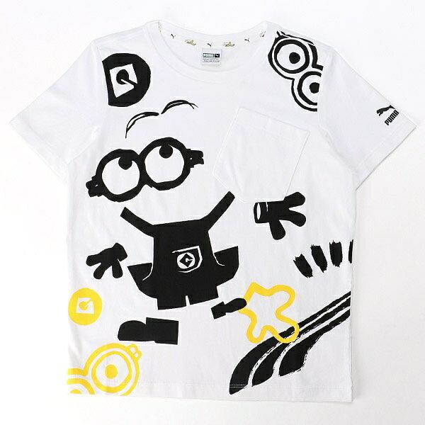【プーマ/PUMA】キッズカジュアルSSシャツ(ミニオンズ SS Tシャツ)/プーマ(PUMA)