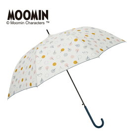 雨傘【ムーミン】(雨晴兼用/ジャンプ長傘/UVカット率90%以上/グラスファイバー骨)/LINEDROPS(ラインドロップス)