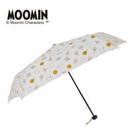 雨傘【ムーミン】(雨晴兼用/手開き折たたみ傘/UVカット率90%以上/グラスファイバー骨)/LINEDROPS(ラインドロップス)