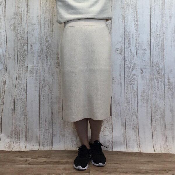 【秋冬新作】畔編みタイトスカート/アールユー(ru)