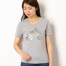 【アディダス】レディースTシャツ(W S/S ボス ホイル Tシャツ)/アディダス(adidas)