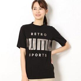 【プーマ/PUMA】レディースカジュアルSSシャツ(RETRO SS Tシャツ)/プーマ(PUMA)