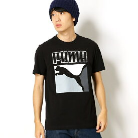 【プーマ/PUMA】メンズカジュアルSSシャツ(CLASSICS ボックスロゴ SS T)/プーマ(PUMA)