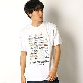 【ニューバランス】メンズTシャツ(インクレディブルT)/ニューバランス(new balance)