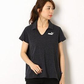 【プーマ/PUMA】レディースカジュアルポロシャツ(ESS+ オープンポロシャツ)/プーマ(PUMA)