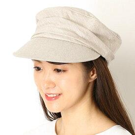 ギャザー マリンキャップ【サイズ調節】【レディース/帽子】/ナミキ(NAMIKI)