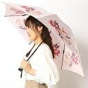 雨傘(3段/折りたたみ/ミニ/楽々開閉)【グラス骨】花型 (レディース)/ミラ・ショーン(雑貨)(mila schon)