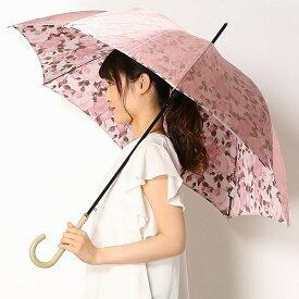 雨傘(ジャンプ傘)【カラバリ豊富/グラス骨/耐風】花柄 (レディース)/ミラ・ショーン(雑貨)(mila schon)
