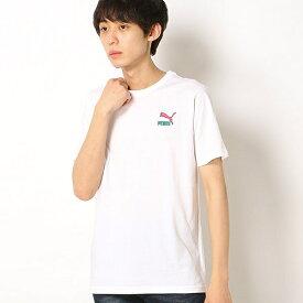 【プーマ/PUMA】メンズSSシャツ(GRAPHIC HANDWRITING SS Tシャツ)/プーマ(PUMA)