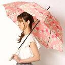 雨傘(長傘)【手開き/安全ロクロ/グラスファイバー骨仕様】クリザンテーム(花/フラワー)/ポールアンドジョー(…