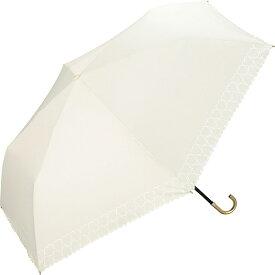 日傘 晴雨兼用 折りたたみ 遮光ハートヒートカットmini (レディース/雨の日も使える)/w.p.c(WPC)