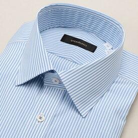 【アウトレット20SS】(形態安定加工生地)[ラクチンすっきりYシャツ]/ビサルノ
