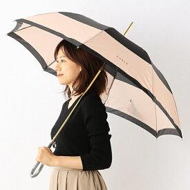雨傘(ジャンプ傘)【耐風/グラス骨/日本製】カラーボーダー(レディース)/フルラ(雑貨)(FURLA)