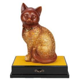 黄金の金運猫